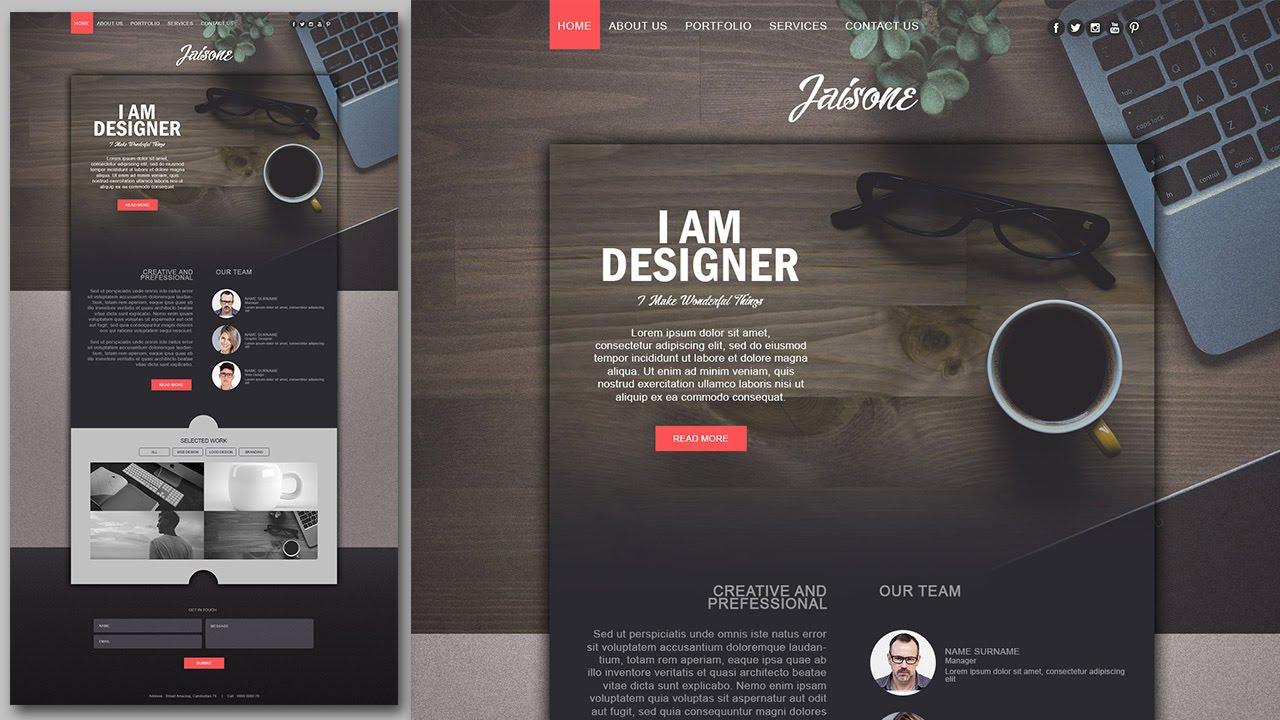 Website Design Tutorial
