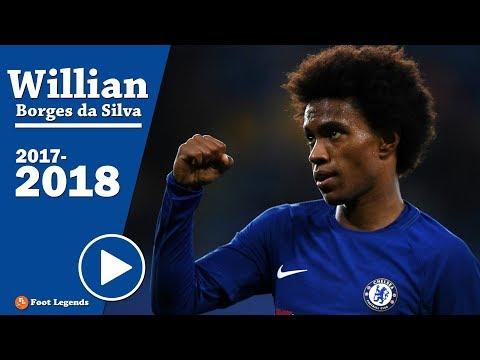 WILLIAN | Chelsea 2018 ● Unstoppable Dribbling Skills, Tricks, & Best Goals || HD