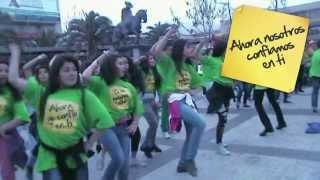preview picture of video 'FlashMob Plaza Puente Alto'