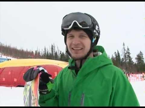 Видео: Видео горнолыжного курорта Трехгорье в Ханты-Мансийский АО