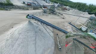 Exploring a gravel plant in Austria ????   FPV   Freestyle   Nazgul5 V2
