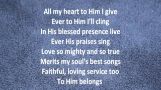 Love Lifted Me with Lyrics by Alan Jackson