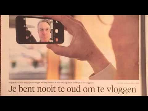 Joost Timp over vloggen voor senioren