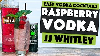 Raspberry Vodka Cocktail Recipe With An Apple Twist!