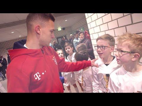 Unvergessliche Momente: Einlaufkind im DFB-Pokal