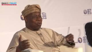 If you deviate I will call you to order - Obasanjo