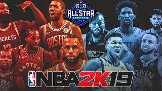 Team Lebron vs Team Giannis στο NBA 2K19! [NBA All-Star Game]