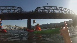 Oregonian reporter swims the Willamette with Portland Mayor-elect Ted Wheeler