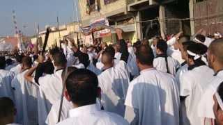 preview picture of video 'موكب تطبير حي الربيع - الكوت - واسط 1'