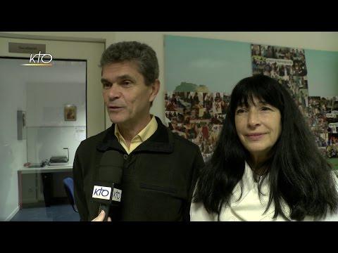 Daniel et Mireille Delbecq, responsables de l'aumônerie à Sèvres-Ville d'Avray