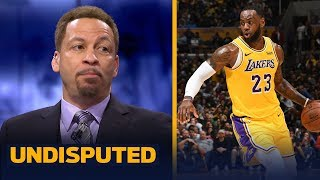 Chris Broussard says it's 'ridiculous' to think the Lakers would trade LeBron | NBA | UNDISPUTED