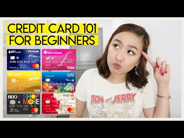 credit card 101 💳 for beginners (basics + pros & cons) | tita talks 🍵