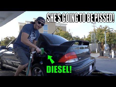Wie ein bei der Auftankung betrogenes Benzin nicht zu sein