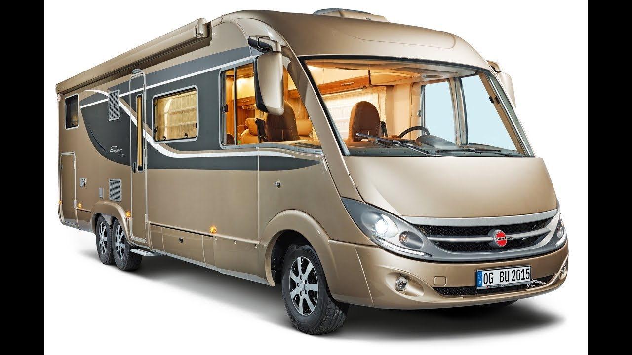 Luxury European RV revew : Burstner Elegance