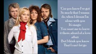 Take A Chance On Me - ABBA - (Lyrics)
