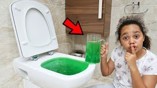 SLIME PRANK IN MY DAD