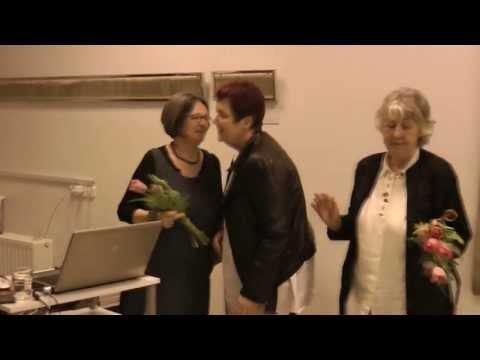Pápai Lívia képzőművész és Harsay Ilona iparművész a BKF sharepoint 02 – vendégei, 2013