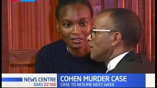 Prosecution wants Murgor barred from representing Sarah Cohen