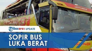 Sopir Bus Sinar Jaya Alami Luka Berat dalam Kecelakaan Maut di Tol Cipali, Tujuh Orang Tewas di TKP