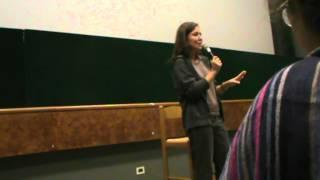 preview picture of video 'SABINA GUZZANTI al CINEMA NUOVO di LA SPEZIA 08/10/2014'