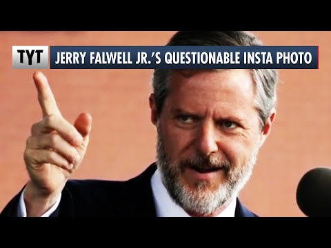 Jerry Falwell Jr. Makes Questionable Photo WORSE with Explanation