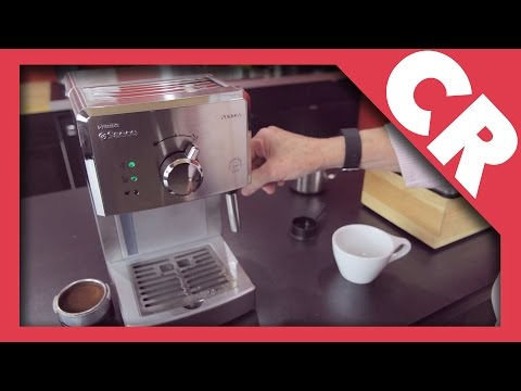 , Saeco HD8327/47 Poemia Top Espresso Machine, Stainless Steel