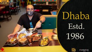First Dinning Experience After Lockdown At DHABA Estd. 1986