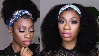 Over Lace Front wigs? Tired Of gel, spray, & blending? EASY headband wig ft. Victorias Wig