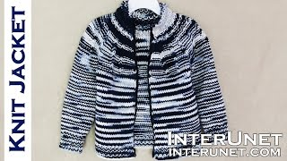 Jacket Knitting Pattern - Knit A Jacket For A Child