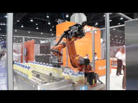 KUKA Packing Robot at Pack Expo 2015