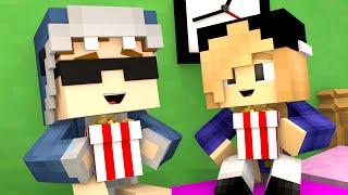 Minecraft School-CUTE MOVIE DATE!!