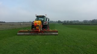 Mill farm ashorne, agricultural contractors with Drill at Ashorne