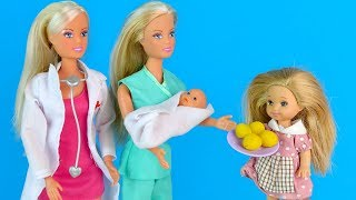 Мексиканские Пышки или Как Уборщица Стала Медсестрой Мультик #Барби Куклы Игрушки Для девочек