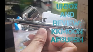 #spokz #gunpla #kkmoon Gunpla Tools: Unbox and Review KKmoon Airbrush set