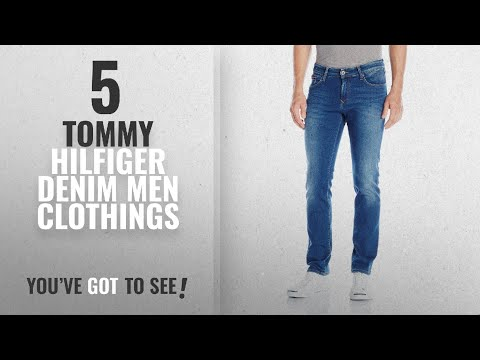Top 10 Tommy Hilfiger Denim Men Clothings [ Winter 2018 ]: Tommy Hilfiger Denim Men's Jeans Original