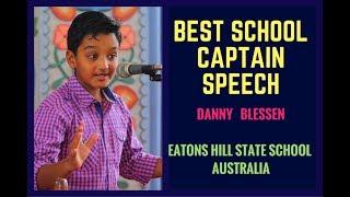 Best school captain speech