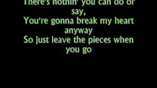 Leave the Pieces - The Wreckers - Lyrics