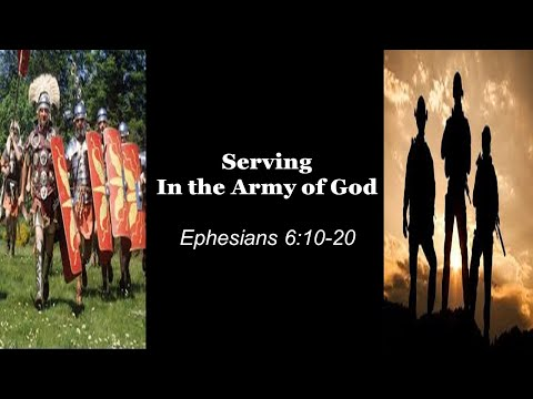 Serving in the Army of God