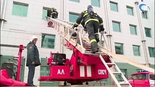 В Великом Новгороде прошла учебная эвакуация главного здания Сбербанка