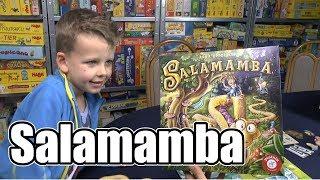 Salamamba (Piatnik) - ab 7 Jahre - attraktives Kinder- bzw. Familienspiel!