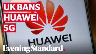 Huawei 5G Ban: Government bans Chinese tech giant from UK's 5G network