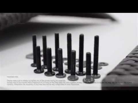 Aufbauvideo - 8+1 Polyrattan Sitzgruppe