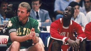 Larry Bird schools Michael Jordan