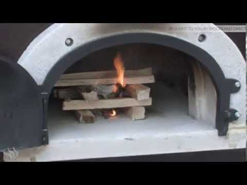 How to start a fire in a Chicago Brick Oven