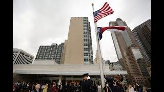 Dallas Morning News Raises Flags At New Building