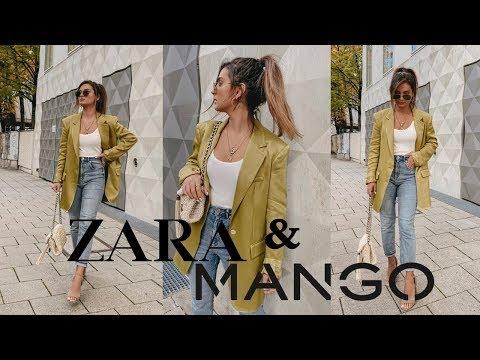 ZARA & MANGO AUTUMN HAUL  🍂October 2019