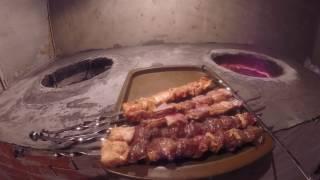 Падишах кафе в Костанае - шашлыки в тандыре, идем на кухню!