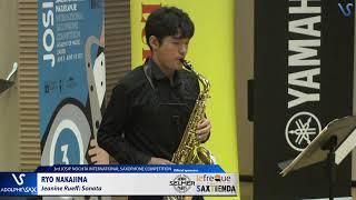 Ryo Nakajima plays Sonate by Janine Rueff