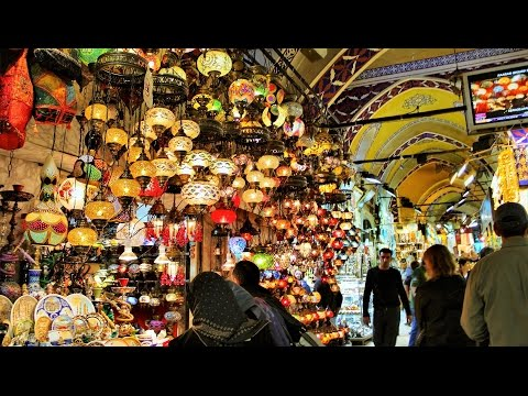 Shopping at Grand Bazaar Istanbul Turkey