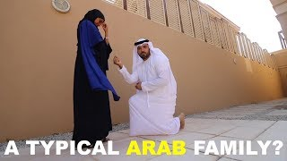 A TYPICAL ARAB FAMILY